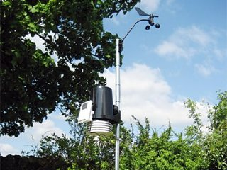 Photograph of the Gatehouse automatic weatherstation